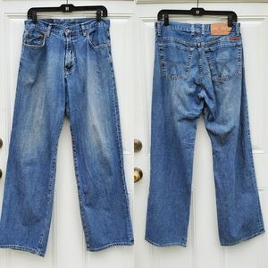 Lucky Brand Men's Dungaree Blue Jeans